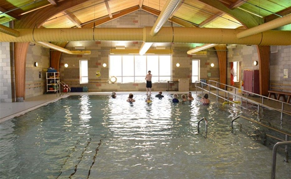 Bacharach offers arthrits exercise classes in its heated therapy pool