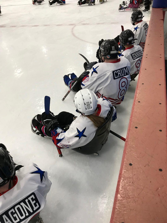Sled Hockey at the Ability Fair July 24, 2019 | Bacharach